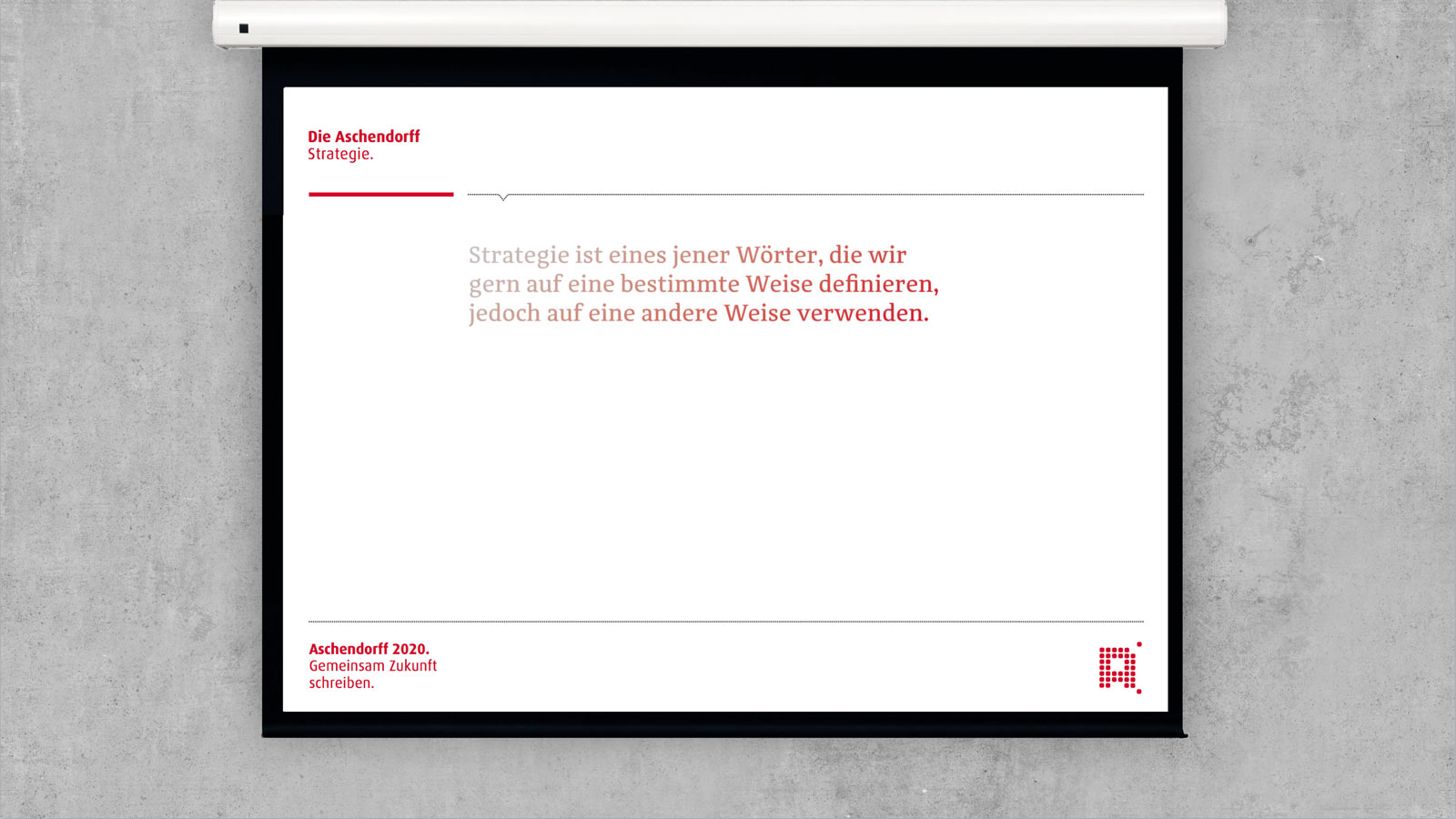 Aschendorff Strategie Powerpoint