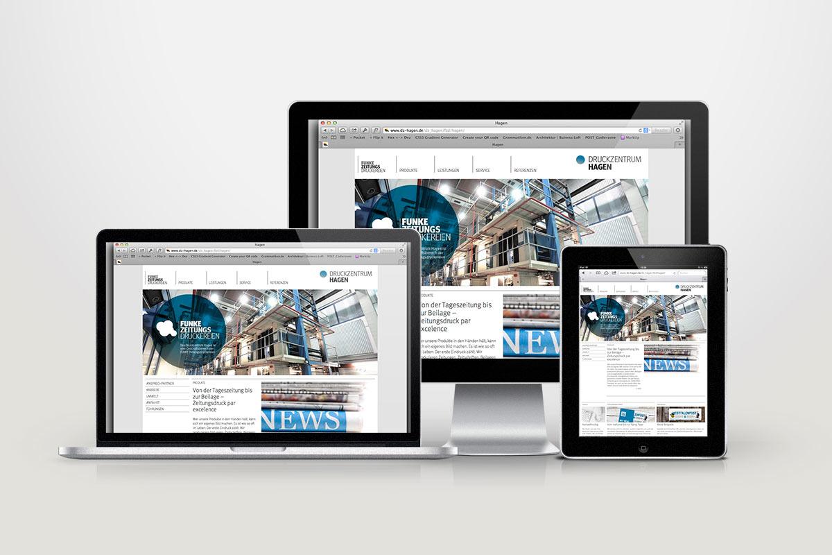 FUNKE Zeitungsdruckereien Webdesign03