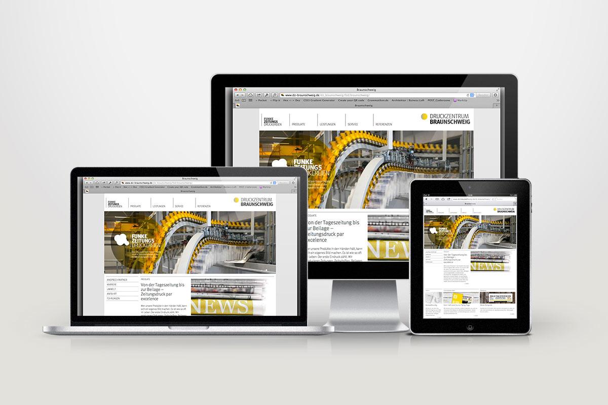 FUNKE Zeitungsdruckereien Webdesign04