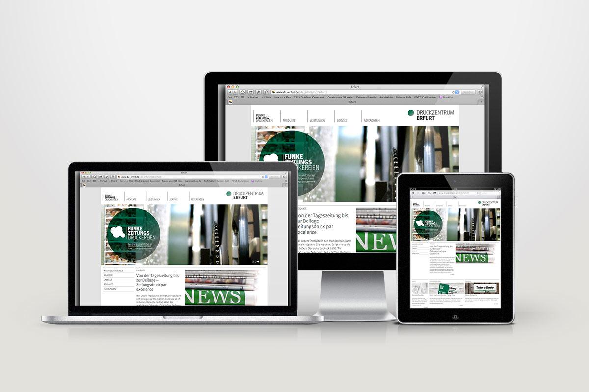 FUNKE Zeitungsdruckereien Webdesign05