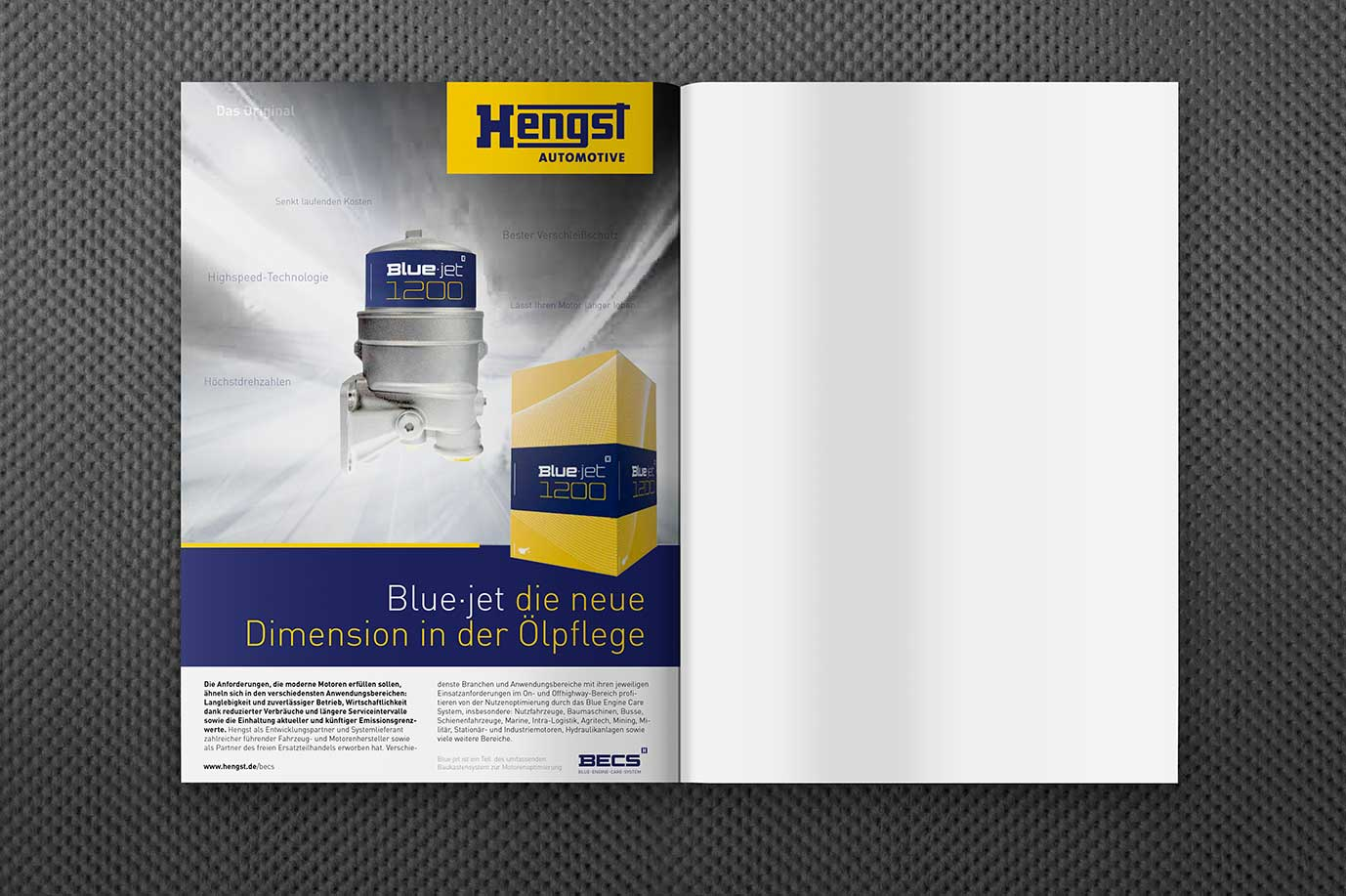 Hengst Automotive — Blue·jet