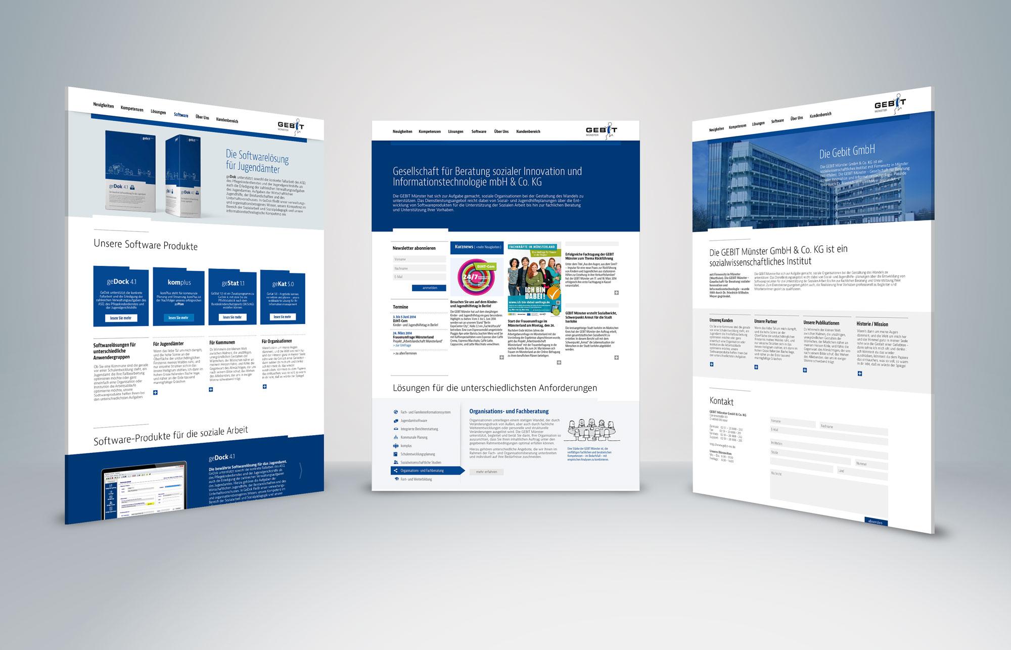 Gebit Website