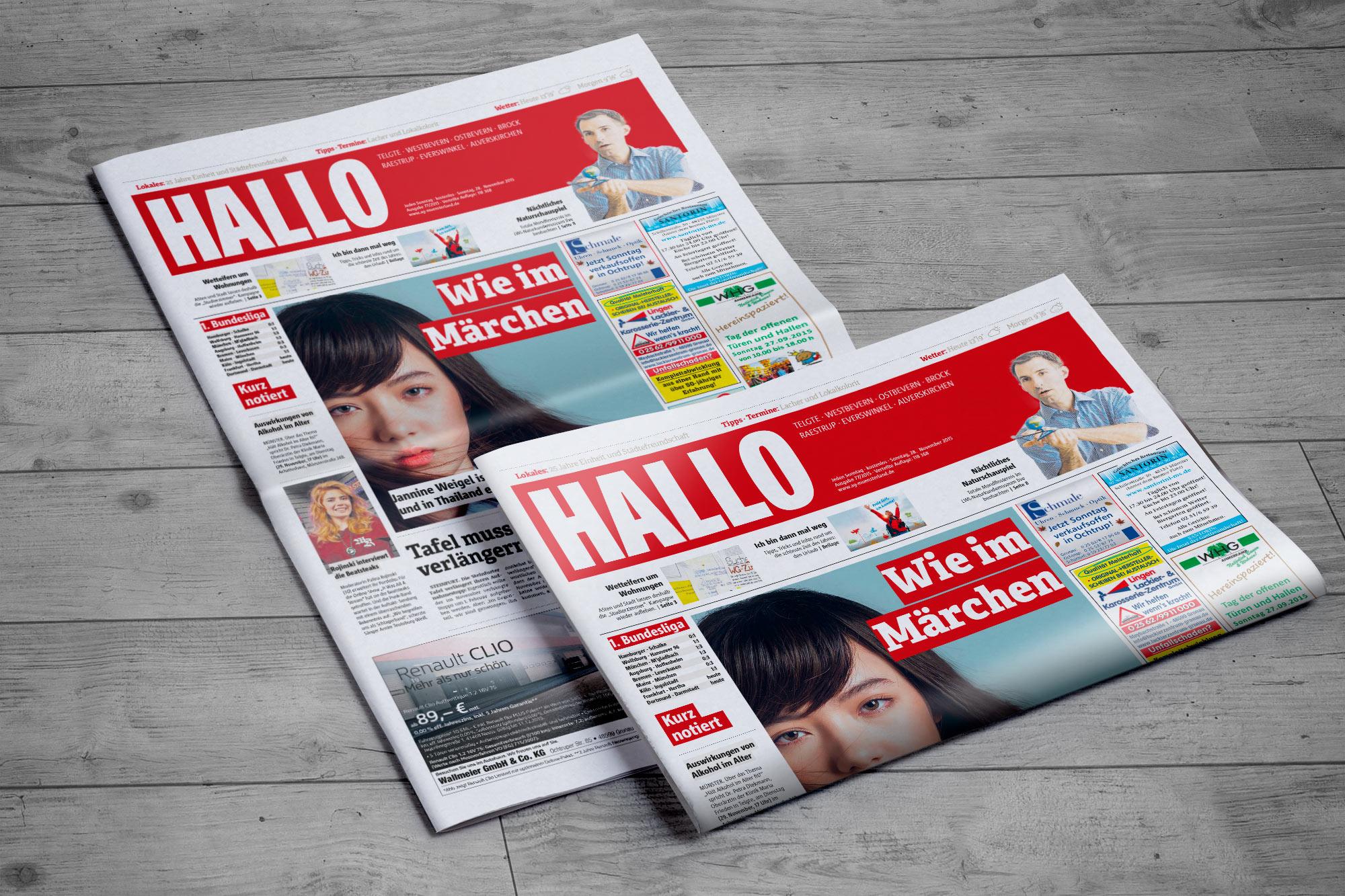 HALLO Gratis-Zeitung