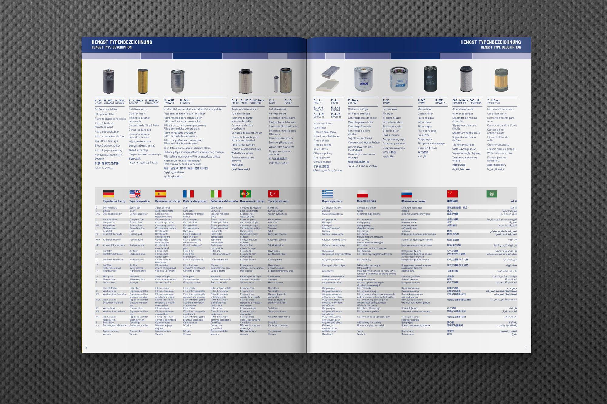 Hengst Automotive Katalog Innen