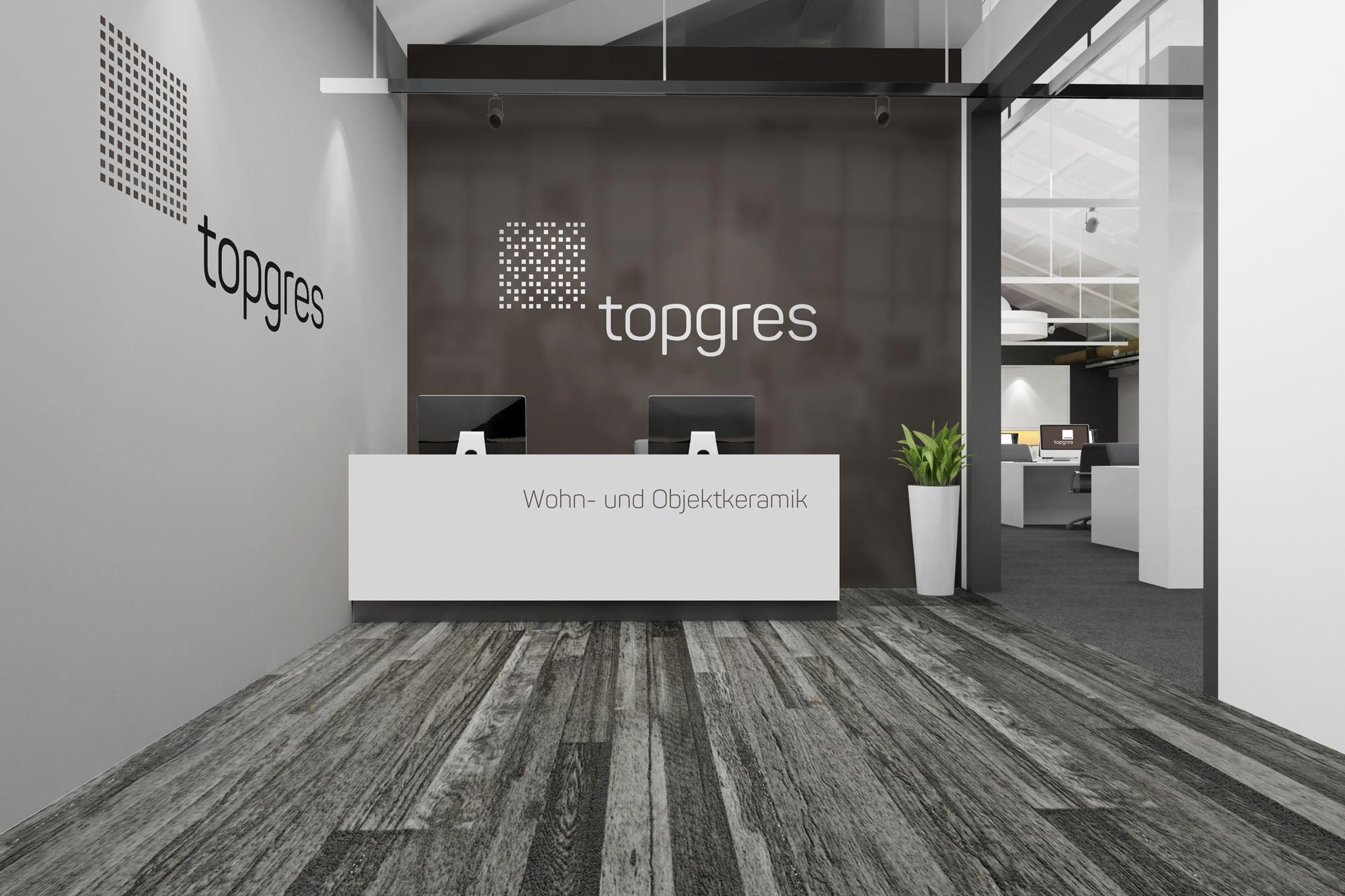 Topgres Eingang
