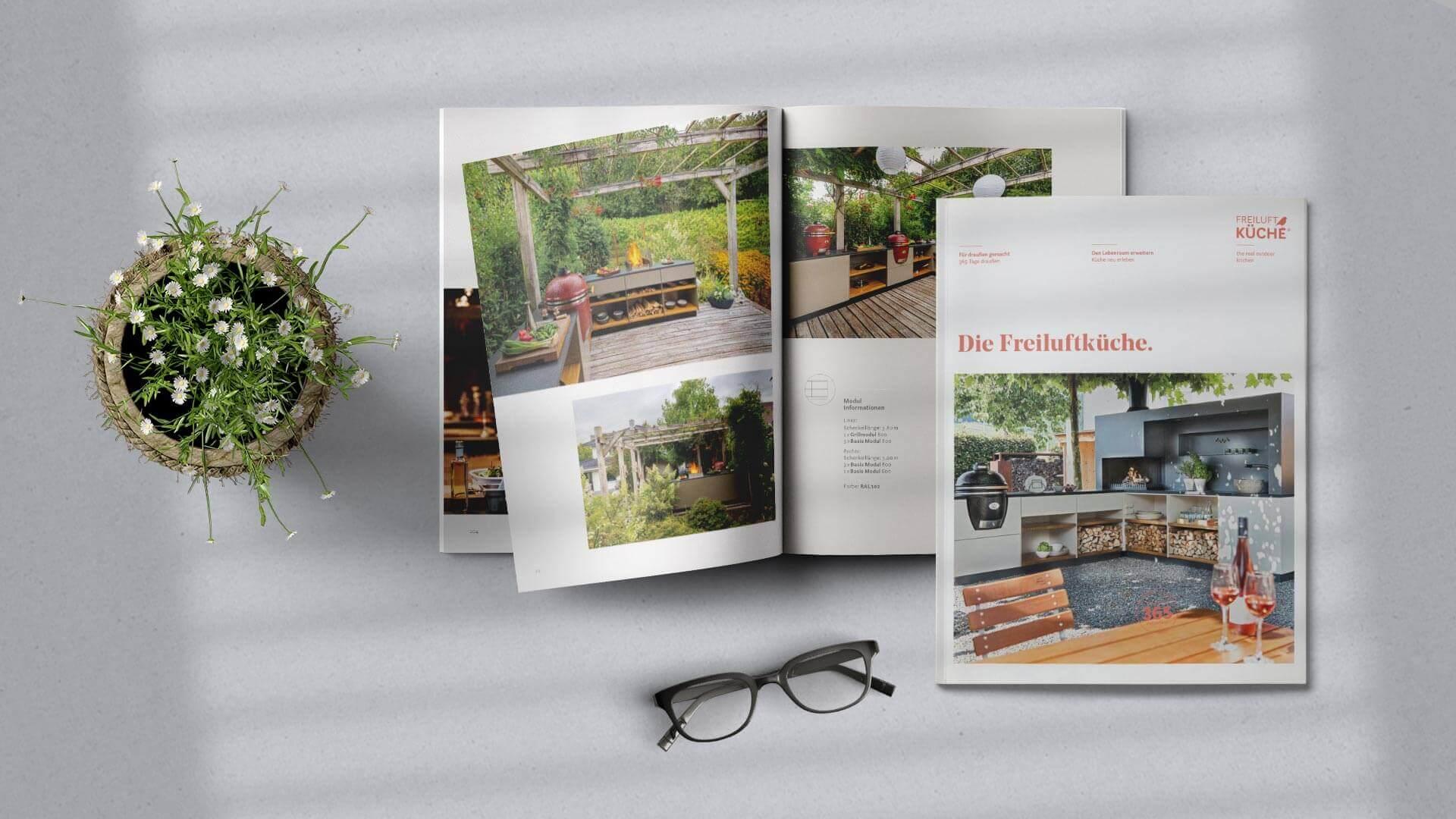 Freiluftküche Broschüre