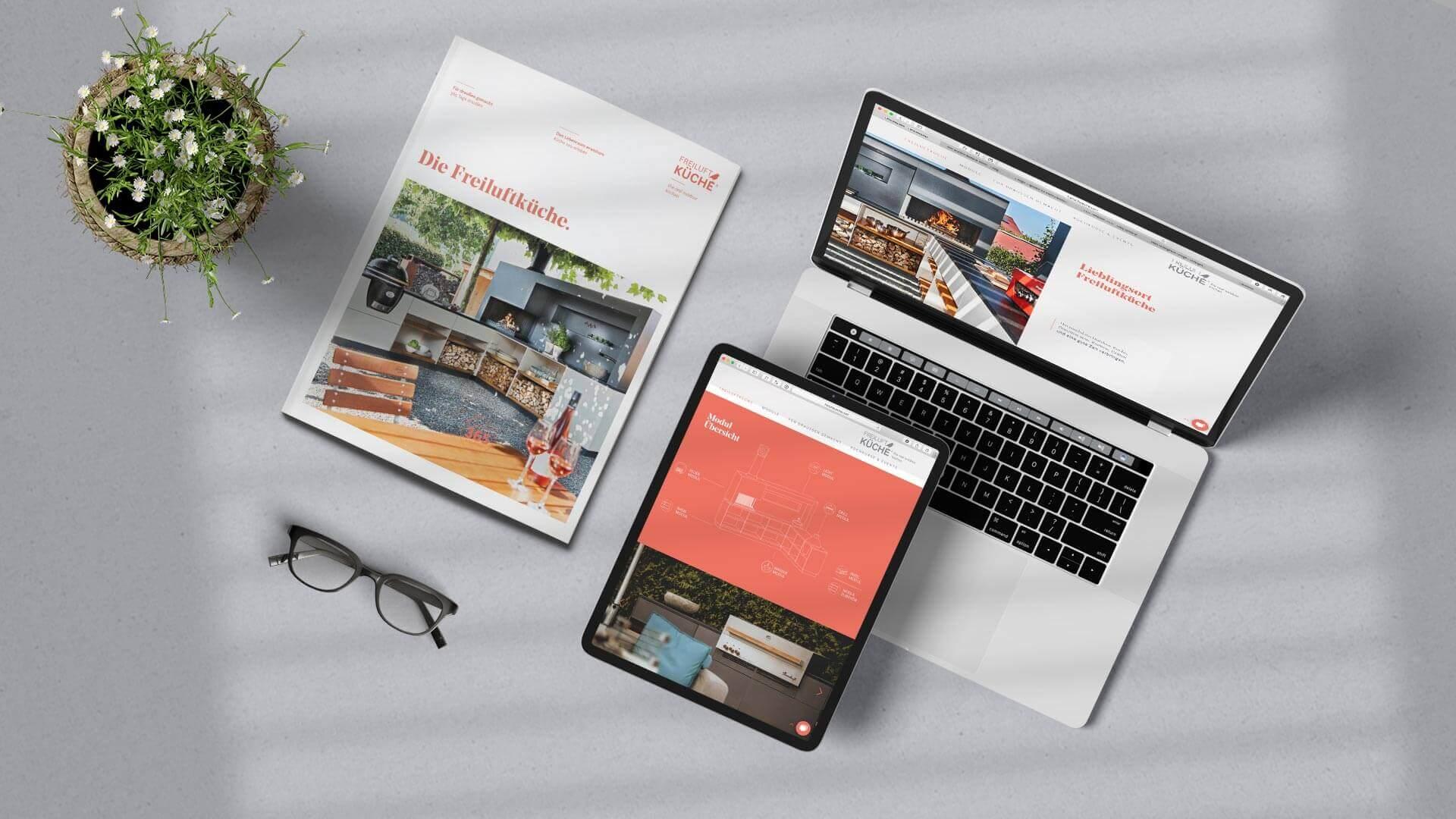 Freiluftküche Website